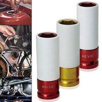 Narzędzia ręczne High Carbon Steel Wheel Kolorowe Rękaw Ochrona Opon Ścienna Gniazdo Nakrętek Depont 17mm / 19mm / 21mm