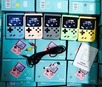 أفضل المحمولة المحمولة لعبة فيديو وحدة التحكم الرجعية 8 بت لعبة اللاعبين 800 في 1 مباريات 3 بوصة AV ألعاب مع لون LCD