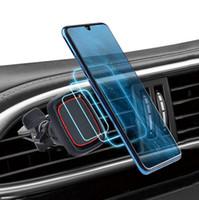 Универсальный автомобильный держатель 360 градусов магнитный кронштейн воздушный вент держатель телефона подставка DESTKTOP Magnet Mount для iPhone 12 11 X XS MAX GPS