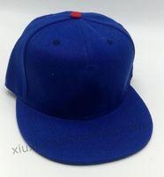 2021 Royal Blue Color Все команда бейсбол спортивные крышки мужские женские полные замкнутые шапки случайные досуги кубики плоские шляпы BABLABLE