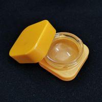Concentrato quadrato nero pieno 5ml Premium Contenitori di vetro di vario colore di vetro a prova di bambino Cera Herb Vasi DHL