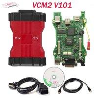 Leitores de Código Verificar ferramentas 2021 VCM 2 Diagnóstico Scanner Multi-linguagem VCM2 IDs V101 V96 V86 Ferramenta II OBD2 para Frd / M-Azda Car Teste1