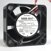 Nuevo NMB-MAT 1608KL-04W-B79 LB2 DC 12V 0,25A Servidor ventilador de refrigeración del ventilador Plaza servidor 40x40x20mm 3 hilos