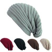 Взрослая шерсть вязаная шапка акриловая мягкая вязаная шляпа женская шапка для мальчиков девушки зима рождество открытый держать теплые шляпы GWE8040