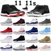 جديد 25th الذكرى كرة السلة أحذية رجالي 11 11S أحذية رياضية تعلق كونكورد 45 ليلة ليلة مارون الفوز مثل 96 Low Legend المدربين الأزرق