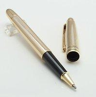 الأقلام الفاخرة جودة عالية 1 قطع 163 الحبر المعدني القلم رولربال القلم مكتب مكتب المدرسة الفاخرة القلم مع مقطع الذهب