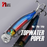NOEBY 9246 LURE DE Pesca Top Agua Popper Lure Wobblers 100mm 120mm 150 mm Cebo Duro ABS ABS Plastic Vivid Eyes 3D 20111