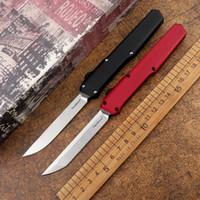 Slm tático faca automática d2 lâmina de aço aviação alumínio alumínio ao ar livre camping self-defesa caça ferramenta cozinha cozinha faca de fruta