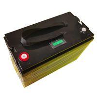 서브 우퍼 골프 카트 라디오 + 10A 충전기 인버터 1200W의 보트 리튬 12V 12.8V 120AH 100AH 80Ah의 한 LiFePO4 배터리 깊은주기