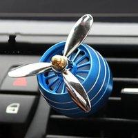 Difusor de aceite esencial del hogar de aromaterapia para el clip de medallón de la botella de perfume del ambientador del automóvil con la luz LED envío gratis 14 G2