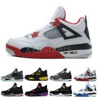 4 AJ4 Retro 2019 Nuevos 4 4s Zapatos baloncesto de los hombres Toro Bravo Cactus Jack 2012 Release Cemento Blanco Diseñador deporte zapatillas de deporte 40-47 G