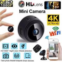 Мини камера 4K HD 1080P Wi-Fi беспроводной прикладное управление телефоном видео поддержки 128 ГБ ночное видение умный домашний детский автомобиль монитор микро видеокамеры веб-камера