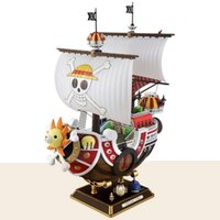 35 cm Anime Tek Parça Bin Güneşli Gidiş Merry Tekne PVC Action Figure Koleksiyonu Korsan Modeli Gemi Oyuncak Monte Noel Hediyesi Y200421