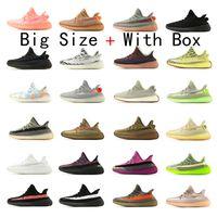 2020 hombres mujeres Nuevo reflexivo estático V2 Kanye West Running Shoes Originals Trainer Butter Sesame Beluga 2.0 Zebra Sport Sneakers EUR 36-48