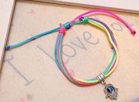 Bracciale dei braccialetti scherza il regalo fascino di Fatima a mano Blue Eye Ciondolo Amicizia