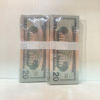 Großhandel Versand Requisiten Dollar WCCSL Party Qualität Requisiten Währung 100 Schnelle amerikanische Papierstange High Stücke / Paket 20-2 Atmosphäre Pijdx