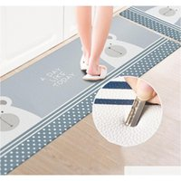 Bathroom Entrance Waterproof Non-slip Mat 45*75cm Home Carpets Pvc Floor Rugs For Bedroom Living Room Mats Kitchen O sqcqaW wphome