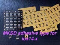 Разблокировка SIM-карты 5G MKSD Приятного клеевого наклейки SIM-чип для iPhone 12 11PRO MAX 11 / XSMAX X / XS / XR / 8/7/6/5S TURBO SIM GEVEY PRO V7 VSIM