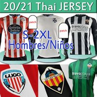 CD Lugo Tenerife Castellon Camisetas Chándal de Fútbol 20 21 camisas de futebol Rodriguez Manu Barreiro Fran Sol Bermejo Jamelli Football