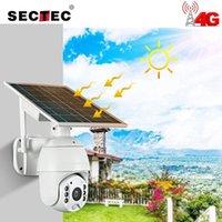 Cámaras Sectec WiFi 4G Solar IP PTZ Starlight Full Color IR Vision P2P Tarjeta SIM Tarjeta Doma Cámara Cámara de almacenamiento de la nube1