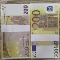 200 023 Papier informatique réaliste pour copie Billets pliés Banknote Prop Collection Props Props Enfants Jeu d'argent Euro 100 pcs / Pack Bwnvt
