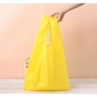 에코 친화적 인 저장 핸드백 접이식 사용 가능한 쇼핑 가방 폴리 에스터 재사용 가능한 휴대용 식료품 나일론 큰 가방 PU jllgfv warmslove
