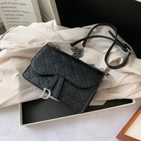Hotembossed Lingge Chain Bag for Women 2020 New Fashion Vers...