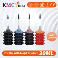 KMCYINKS 30ML Impressora Kit de recarga de tinta para 300 300 xl DeskJet D1660 D2560 D2660 F2420 Impressora Cartucho de Tinta de Impressora CISS Tank1