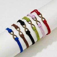Multi Style Charm Together Forever Love Infinity-Armband für Geliebte Red String Paar Armbänder für Frauen Männer wünschen Schmuck Geschenk