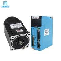 JMC NEMA34 12N.M 2-Phase 86 Closed-Loop-Schrittmotor-Display-Schalttreiber-Treiber CNC-Kit 2HSS858 + 86J18156EC-1000