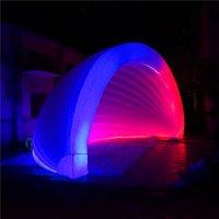 Tenda gonfiabile gigante con la luce del LED e il ventilatore CE per la decorazione della tenda della tenda del partito del partito di musica