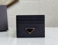 最高品質男性古典的なカジュアルクレジットカードホルダーウルトラスリム財布パケットバッグ