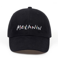 2018 neue unisex mode dad hut melanin stickerei einstellbar baumwolle baseballmütze frauen sonne hüte männer casual caps großhandel1