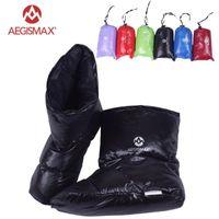 AEGMISMAX DUCK Down Terlik Ayakkabı Puanları Çizmeler Ayakkabı Kamp Ayakları Kapak Sıcak Hiking Outdoor1