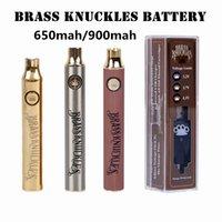 Batterie 650MAH 900mAh Voltage variable Préchauffe Cigarettes électroniques Stylo de batterie pour 510 A épais Cartouche d'huile épaisse