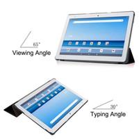 "Ultra Slim Tri-складной Flip Cover для Japan Tablet PC DTAB D-41A 10.1 ""PU кожаный чехол для планшета"