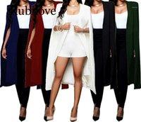 Abiti da donna Blazers Rubilove 2021 Giacche lunghe per le donne Ufficio Lady Style Style Suit Suit Solid Casual Plus Size Coat1