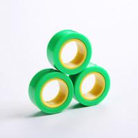 Magnetic Infinite Cube Dekompression Spielzeug Fidget Spinner Magnet Block-Ring-Finger-Hand Spielzeug Tisch Rotating Finger Gyro Charakter HHB2315