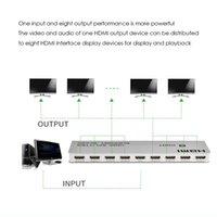 HDMI-Splitter-Teiler eins in acht Out / One in acht HD-3D-Split-Bildschirm