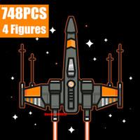 جديد نجمة الفضاء سلسلة الحروب المارقة واحدة في سانت استنساخ AT-AP الكشفية ووكر صالح x الجناح مقاتلة نموذج buiting بلوك الطوب لعبة كيد هدية C1114
