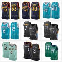 Stephen 30 Köri Basketbol Formaları Lamelo 2 Top Kevin 7 Durant Sexton Irving Collin Gordon 20 Hayward 33 Wiseman Klay 11 Thompson Kyrie