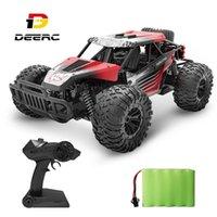 Deard 1:16 RC Car Все Лучвены от Road Buggy Truck 30 минут Play Time 20 км / ч Высокая скорость RC Dift Автомобильные игрушки для детей LJ201210