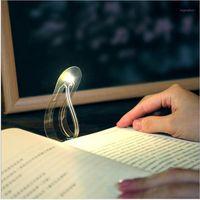 Mini Bookmark com luz LED Light para ler livro Bookmark Leitura Lâmpada Criativa Portátil Pequena Noite Light1