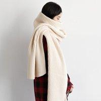 Ланмрем осень и зима новая водолазка пуловер свитер как шарф воротник два способа носить модные вязаные TV873 Y200720
