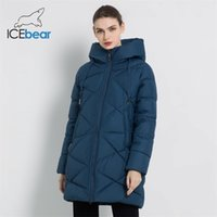 IceBear New Winter Damenjacke Dicke Warm-weibliche Parka Stilvolle Frau Mantel Hohe Qualität Winter Weibliche Kleidung GWD18297I Y201001