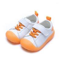 Atlético al aire libre Cuzullaa Baby Girls Suela suave Suela Casual Zapatos Niños Muchachos Coloridos Piso Piso Zapatillas de moda Tamaño 14-251