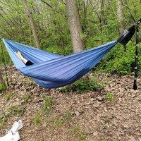 Tenten en schuilplaatsen Hangmat 450 lbs Draagbare reizen Camping Hanging Swing Lazy Chair Canvas Hammocks