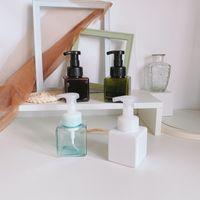 Leere Plastikflaschen Pump PETG Rosa nachfüllbar Platz Flasche 250ml für Lotion Seifenspender Shampoo Container