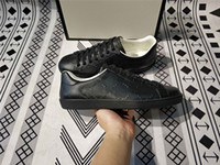 40% de rabais Boîte originale Top Designer Mens Casual Chaussures de sport pour hommes Femmes Designer de luxe Sneaker homme Casual Ace chaussures en stock taille 35-48