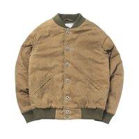 WT-0005 Rock Can Roll Lea la descripción! Tamaño asiático Buena calidad de algodón cera cera chaqueta a prueba de agua 2 colores 201127
